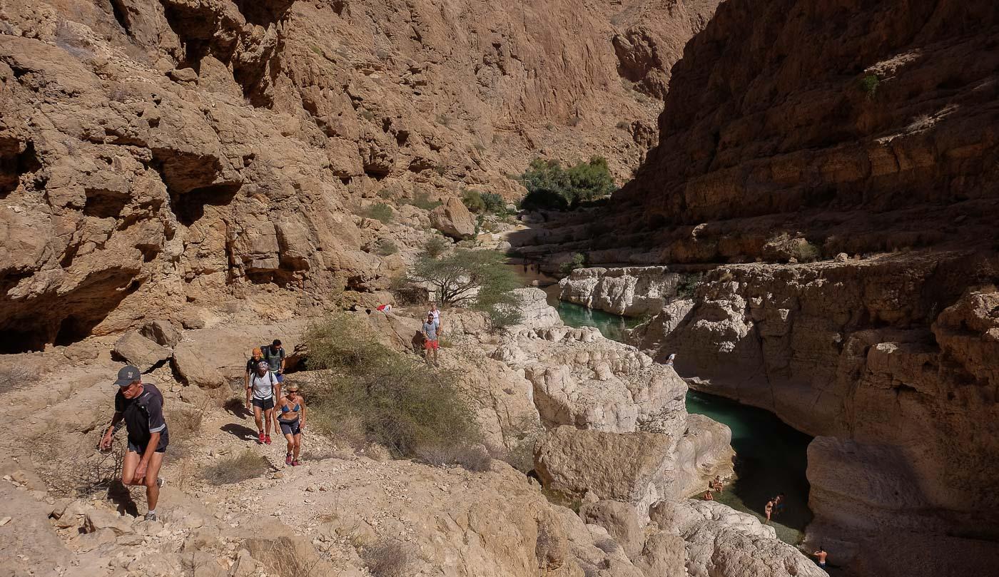 Wadi Shab, Hajar Oriental 15