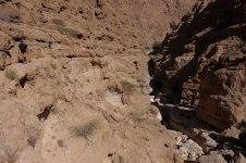 En contre-haut du wadi