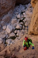 Mibam à Umq Bir, sentier bédouin, Wadi Tiwi, Oman 14