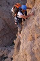 Mibam à Umq Bir, sentier bédouin, Wadi Tiwi, Oman 19