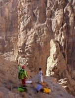 Mibam à Umq Bir, sentier bédouin, Wadi Tiwi, Oman 21