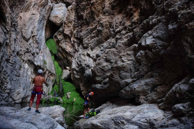 Wadi Halfain, Sayq Plateau 63
