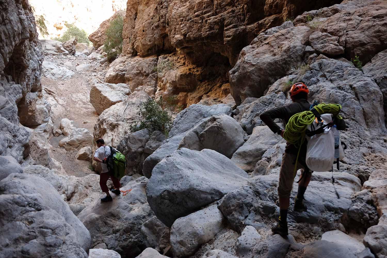 Wadi Halfain, Sayq Plateau 82