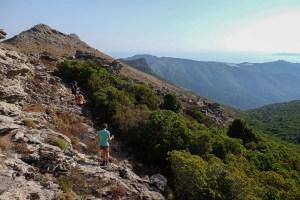 Les crêtes de Pinu, Corse 23