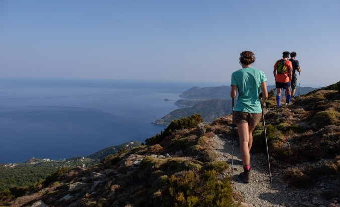 Les crêtes de Pinu, Cap Corse 3