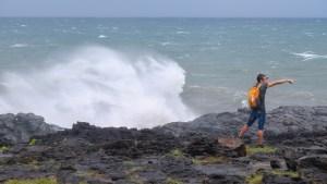 Dumazilé, un cyclone passe au large, La Réunion 11