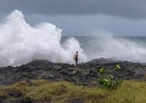 Dumazilé,  un cyclone passe au large, La Réunion 22