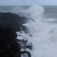 Dumazilé,  un cyclone passe au large, La Réunion 14