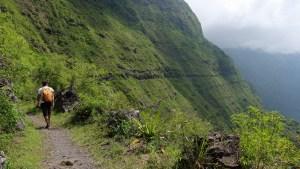 Canalisation des Orangers par le Maïdo, Mafate, La Réunion 44