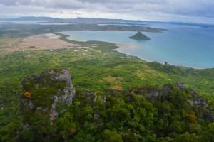 vue panoramique depuis la montagne des français