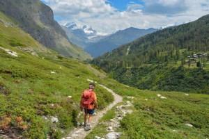 Höhbalmen Trail, Zermatt, Valais, Suisse 36