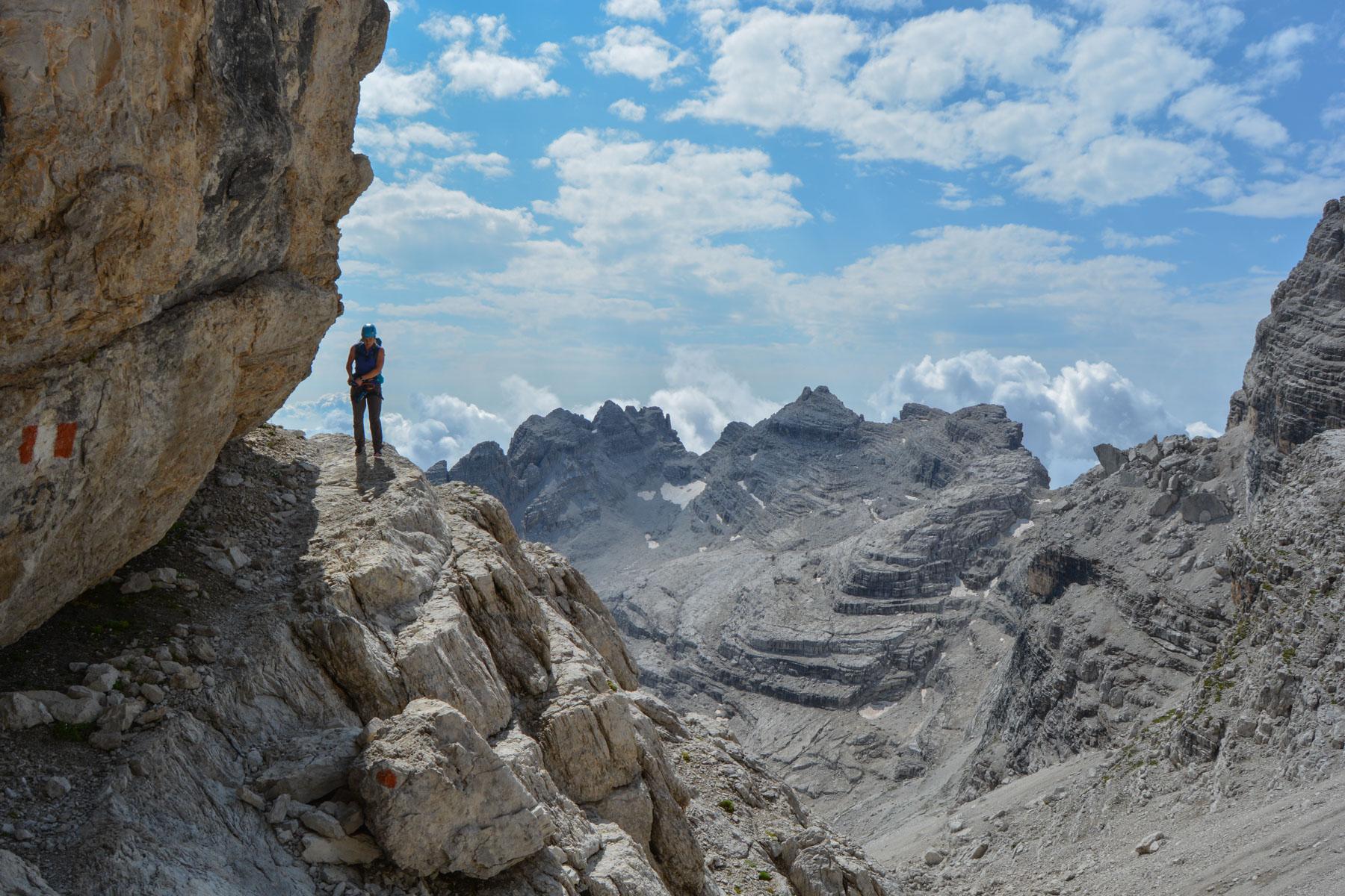 Sentiero Benini, Dolomites 22