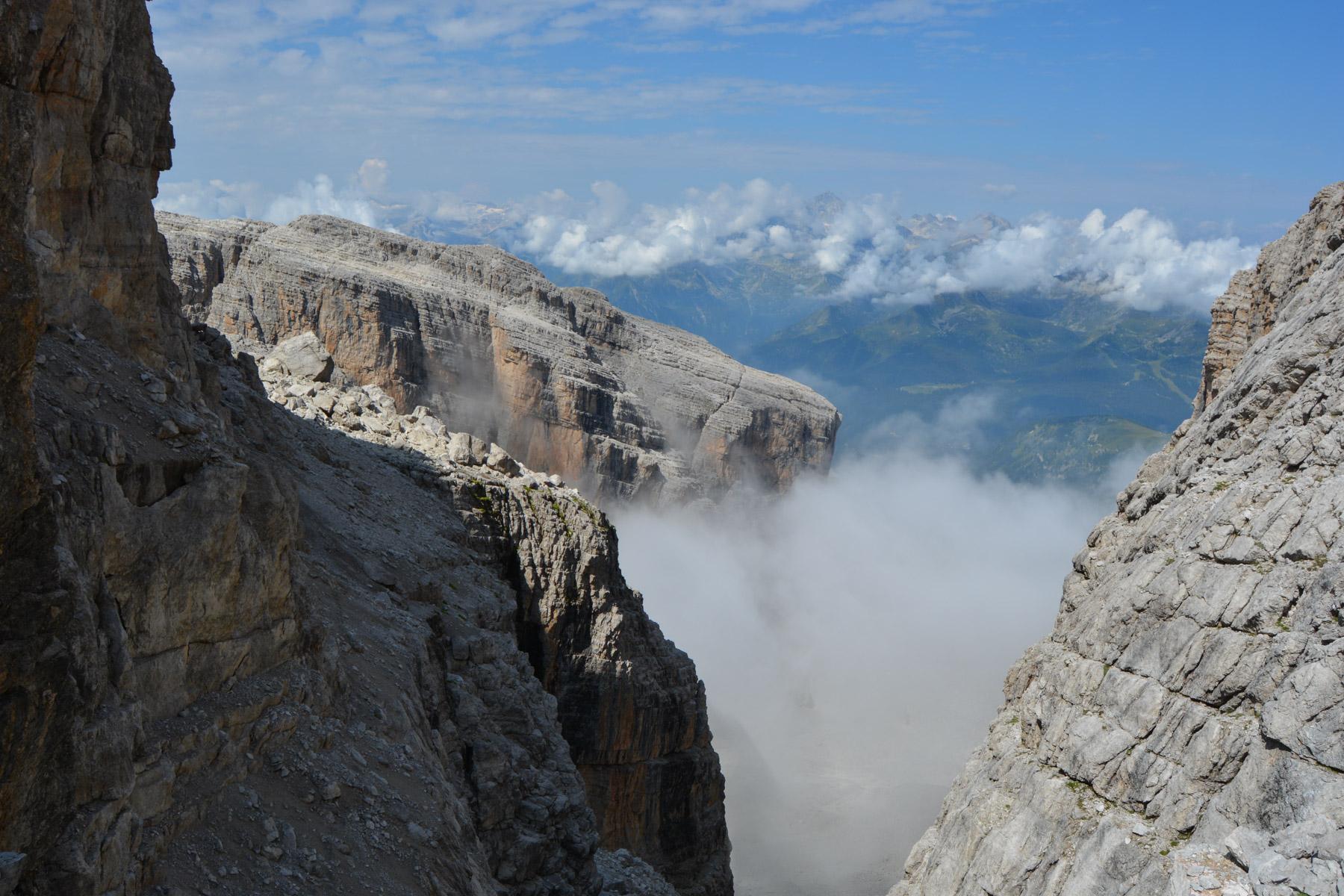 Sentiero Benini, Dolomites 24