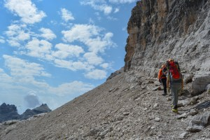 Sentiero Benini, Dolomites 27