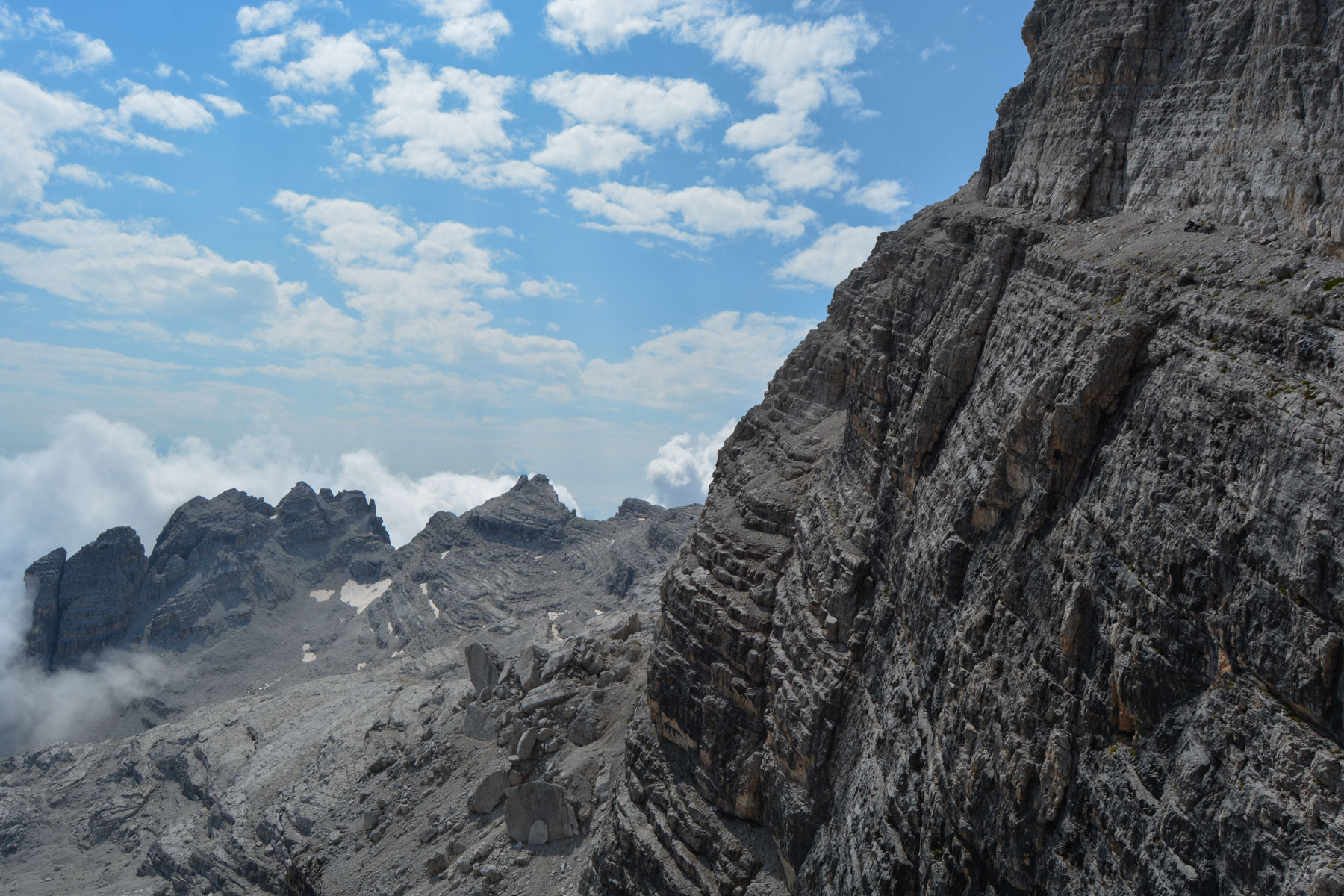 Sentiero Benini, Dolomites 26