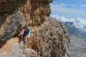 Sentiero Benini, Dolomites 78