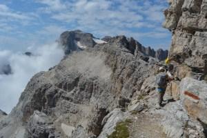 Sentiero Benini, Dolomites 32