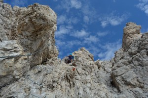 Sentiero Benini, Dolomites 83