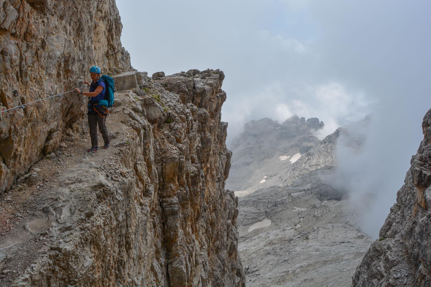 Sentiero Benini, Dolomites 34