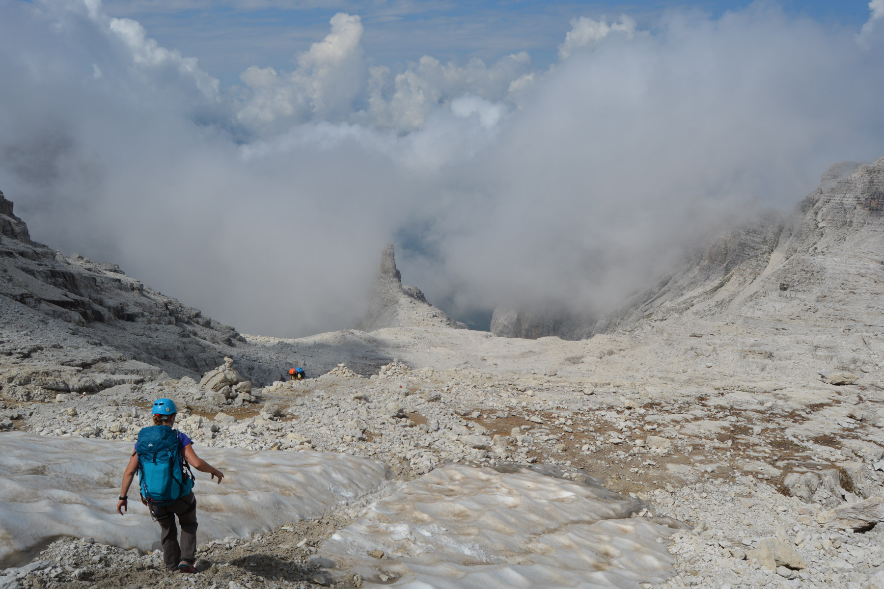 Sentiero Benini, Dolomites 37