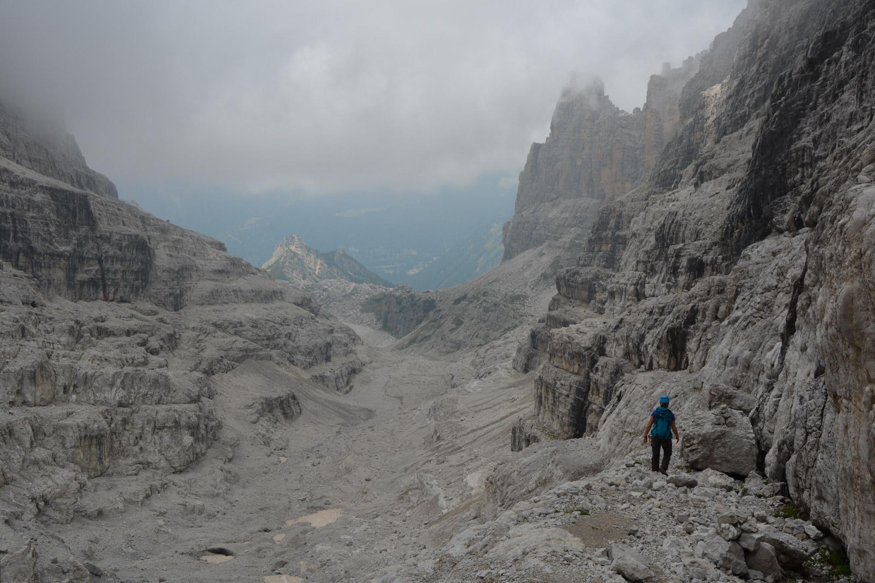 Sentiero Benini, Dolomites 51