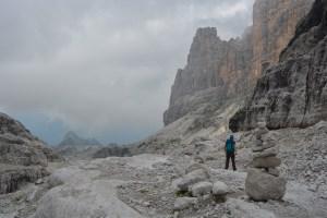 Sentiero Benini, Dolomites 103