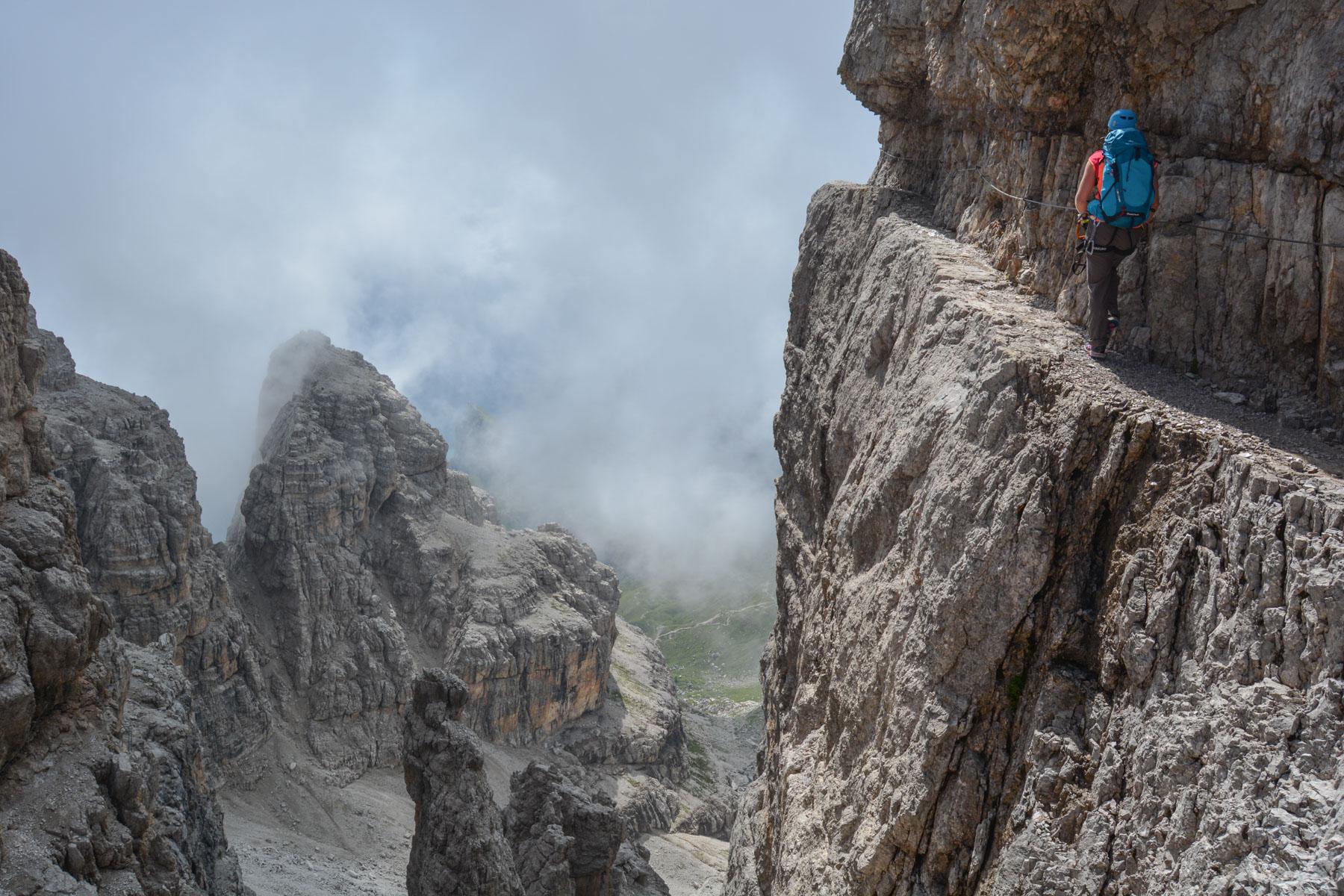 Via delle Bocchette Centrali, Dolomites 27
