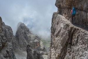 Via delle Bocchette Centrali, Dolomites 29