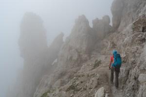 Via delle Bocchette Centrali, Dolomites 38