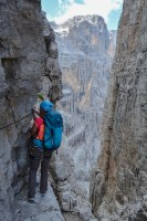 Via delle Bocchette Centrali, Dolomites 49