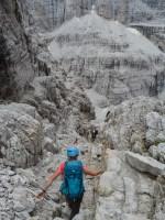 Via delle Bocchette Centrali, Dolomites 54