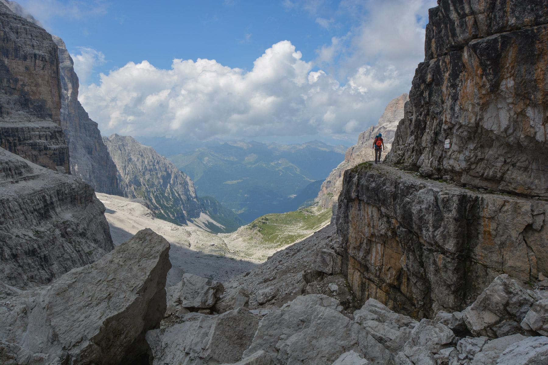 Via delle Bocchette Centrali, Dolomites 61