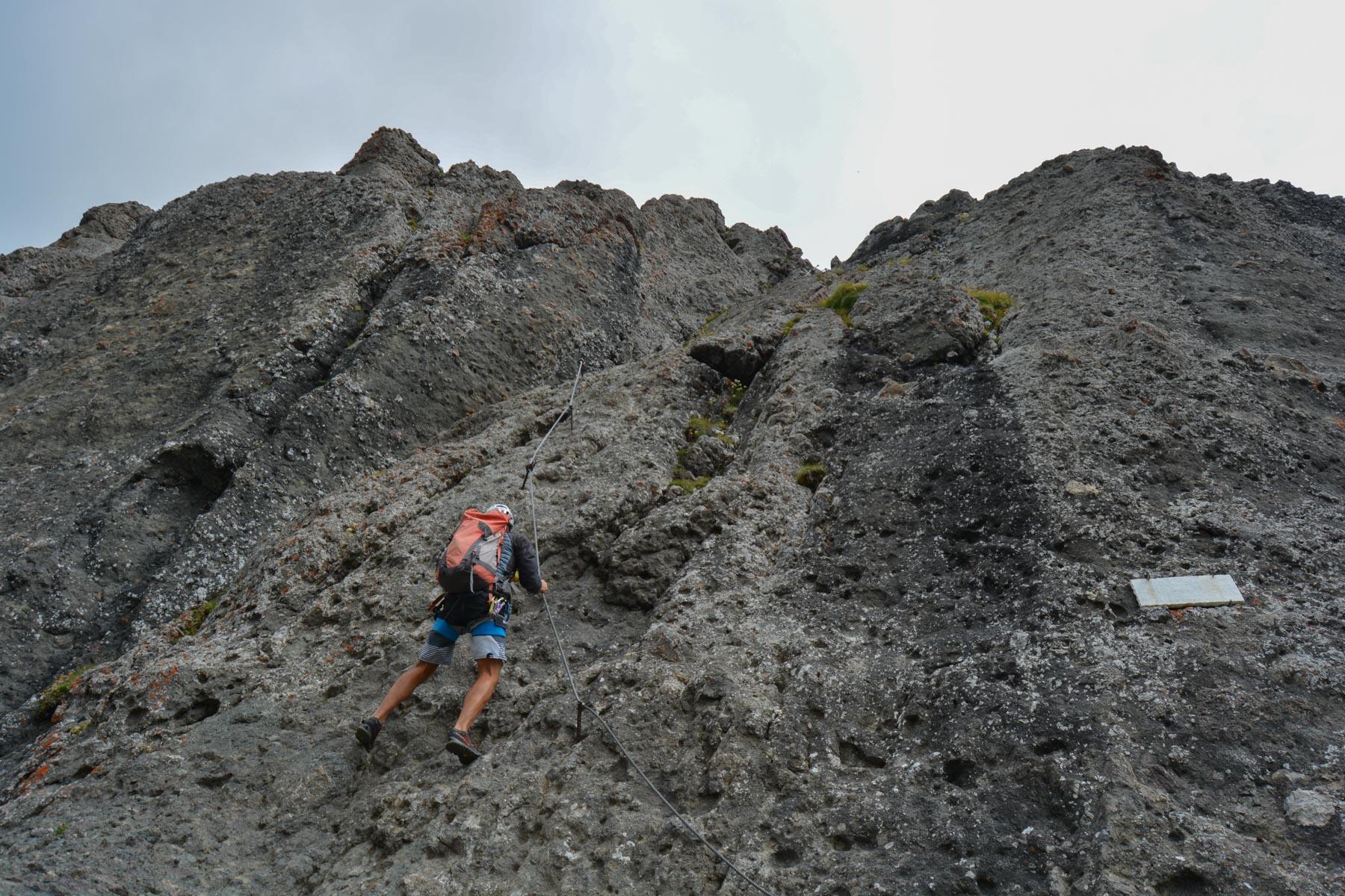 Via ferrata delle Trincee, Dolomites 8