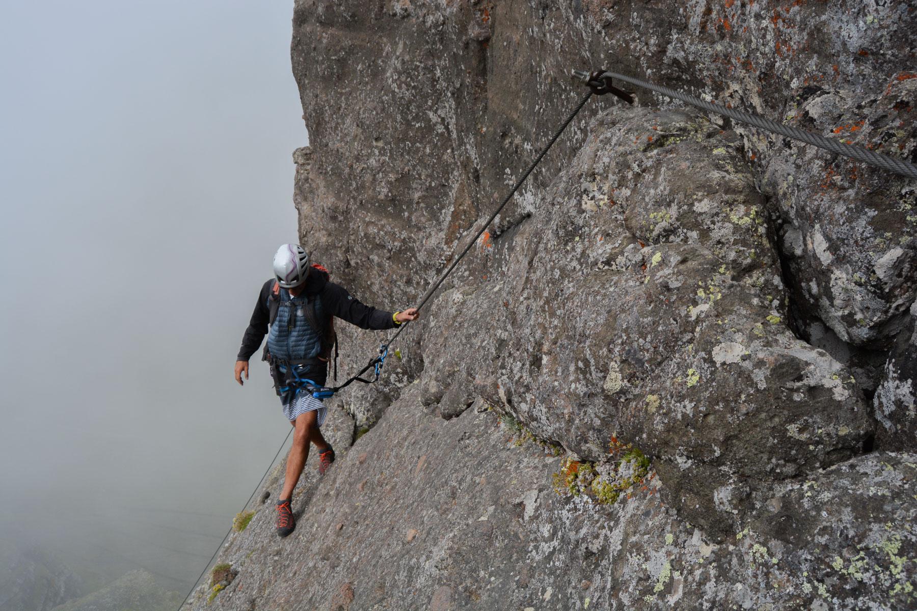 Via ferrata delle Trincee, Dolomites 13