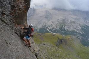 Via ferrata delle Trincee, Dolomites 16