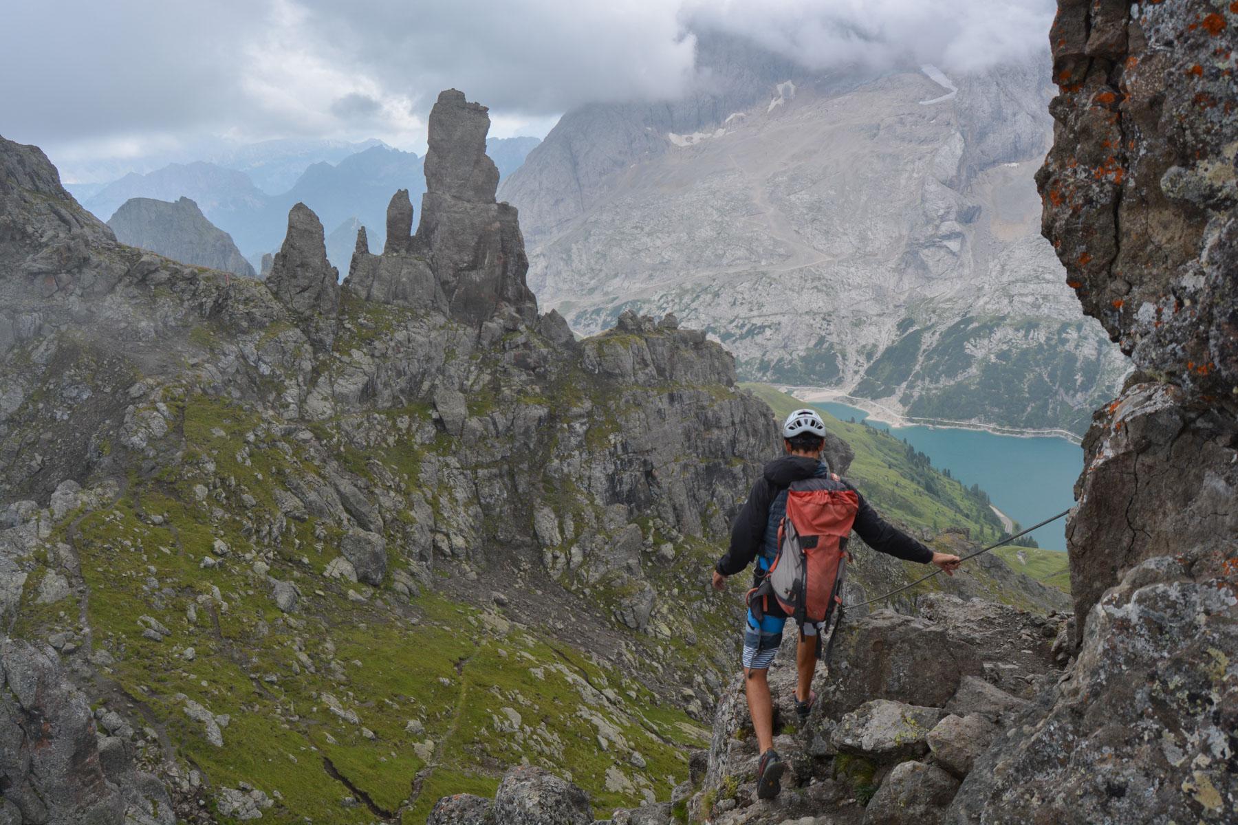 Via ferrata delle Trincee, Dolomites 22