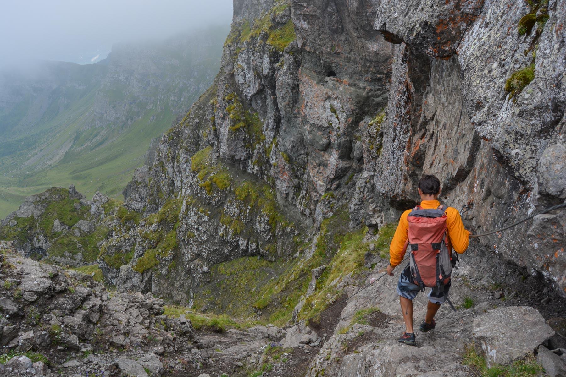Via ferrata delle Trincee, Dolomites 38
