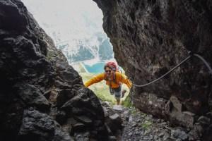 Via ferrata delle Trincee, Dolomites 43
