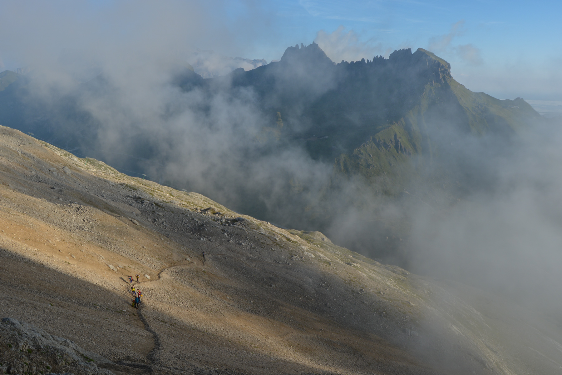 Via Eterna Brigata Cadore, Dolomites 6