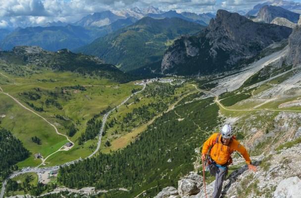 Via Lussato, Dolomites 2