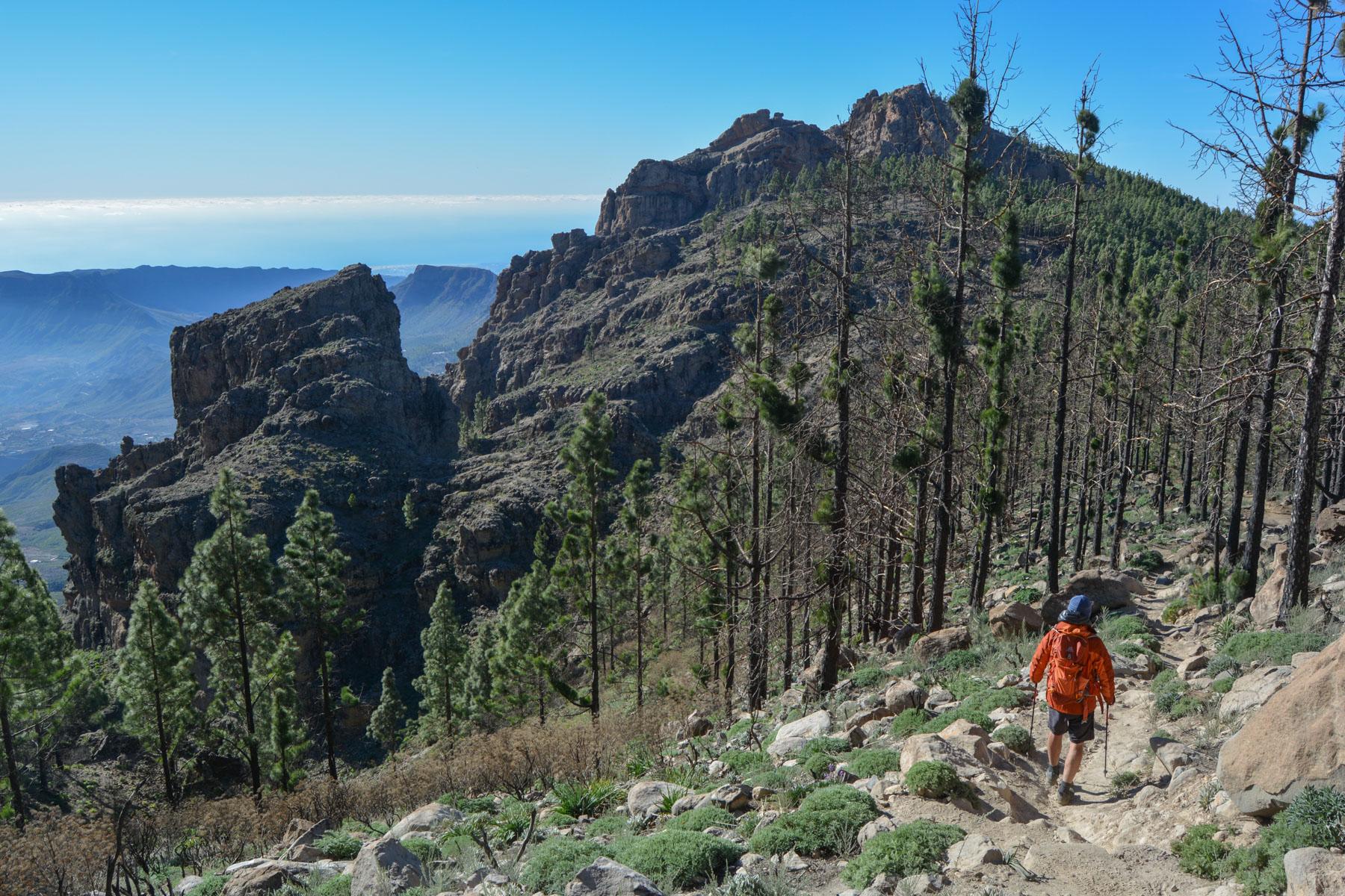 Pico de las Nieves, Gran Canaria, Espagne 9