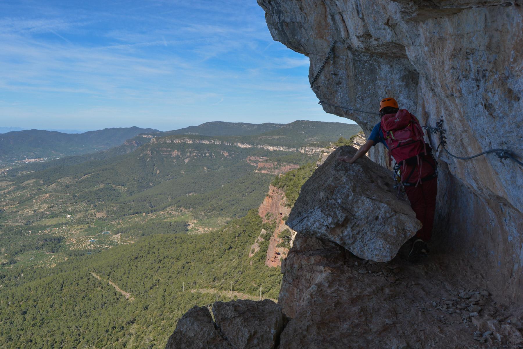 Ferrata dels Patacons, Catalunya 15