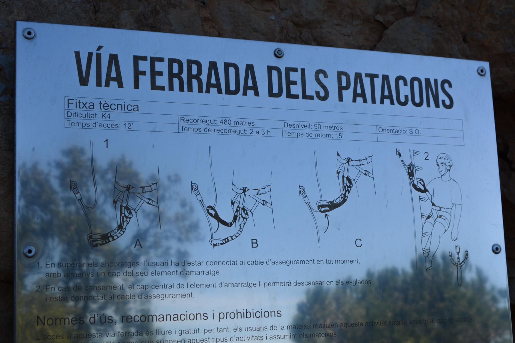 Ferrata dels Patacons, Catalunya 5