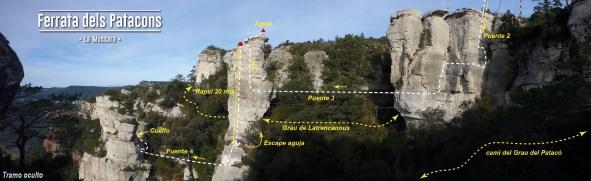 Ferrata dels Patacons, Catalunya 4