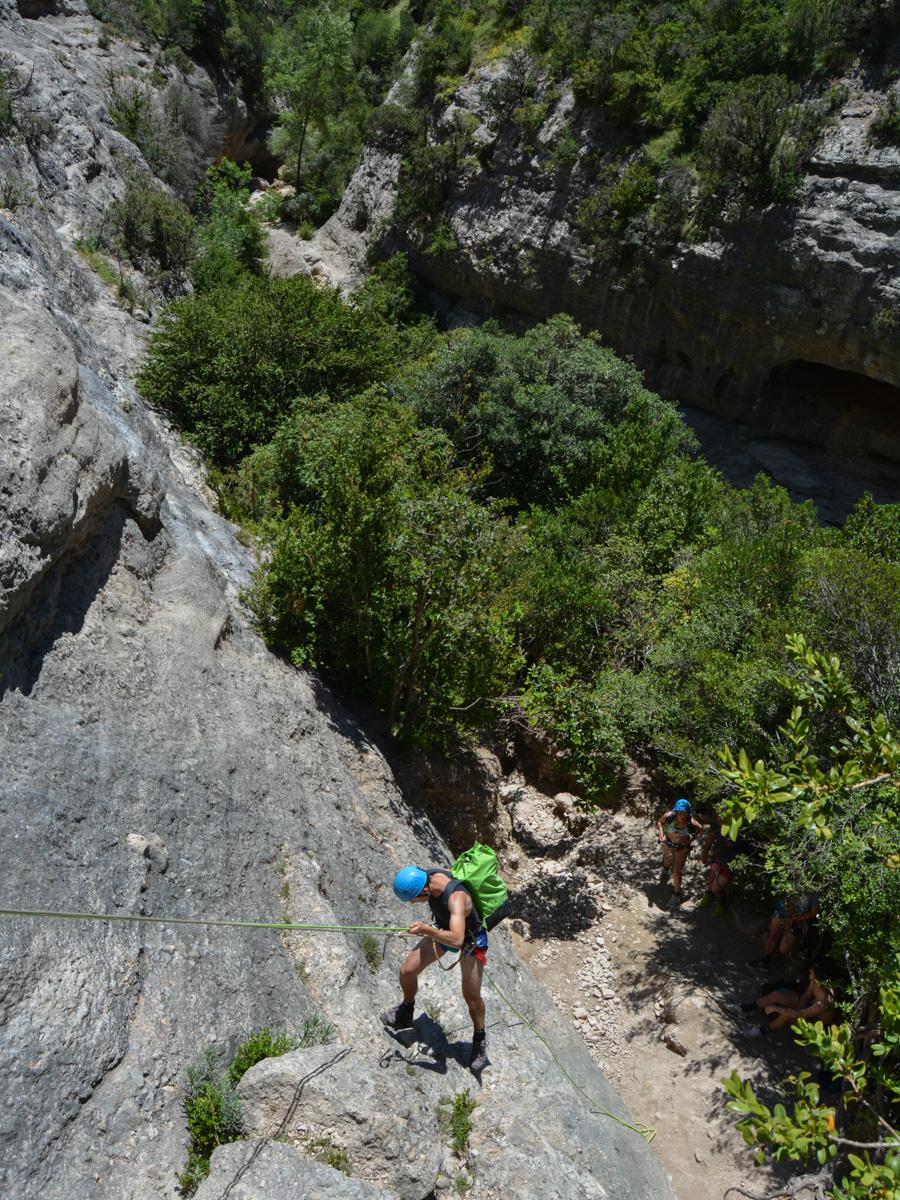 Barranco del Formiga, Sierra de Guara 10