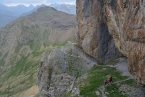 Forquete de Gabietou, Monte Perdido J3, Aragon 36