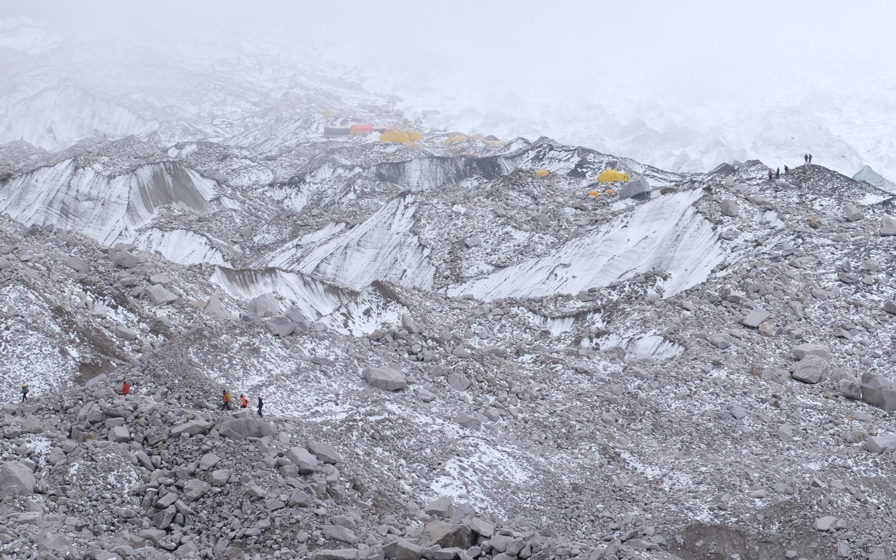 Everest Base Camp, Everest 3 pass #2 32
