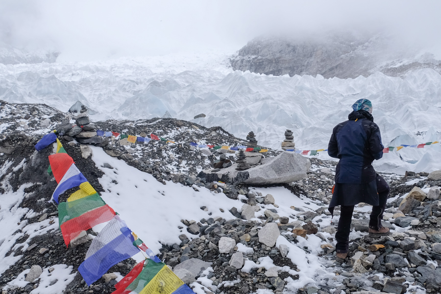 Everest Base Camp, Everest 3 pass #2 35