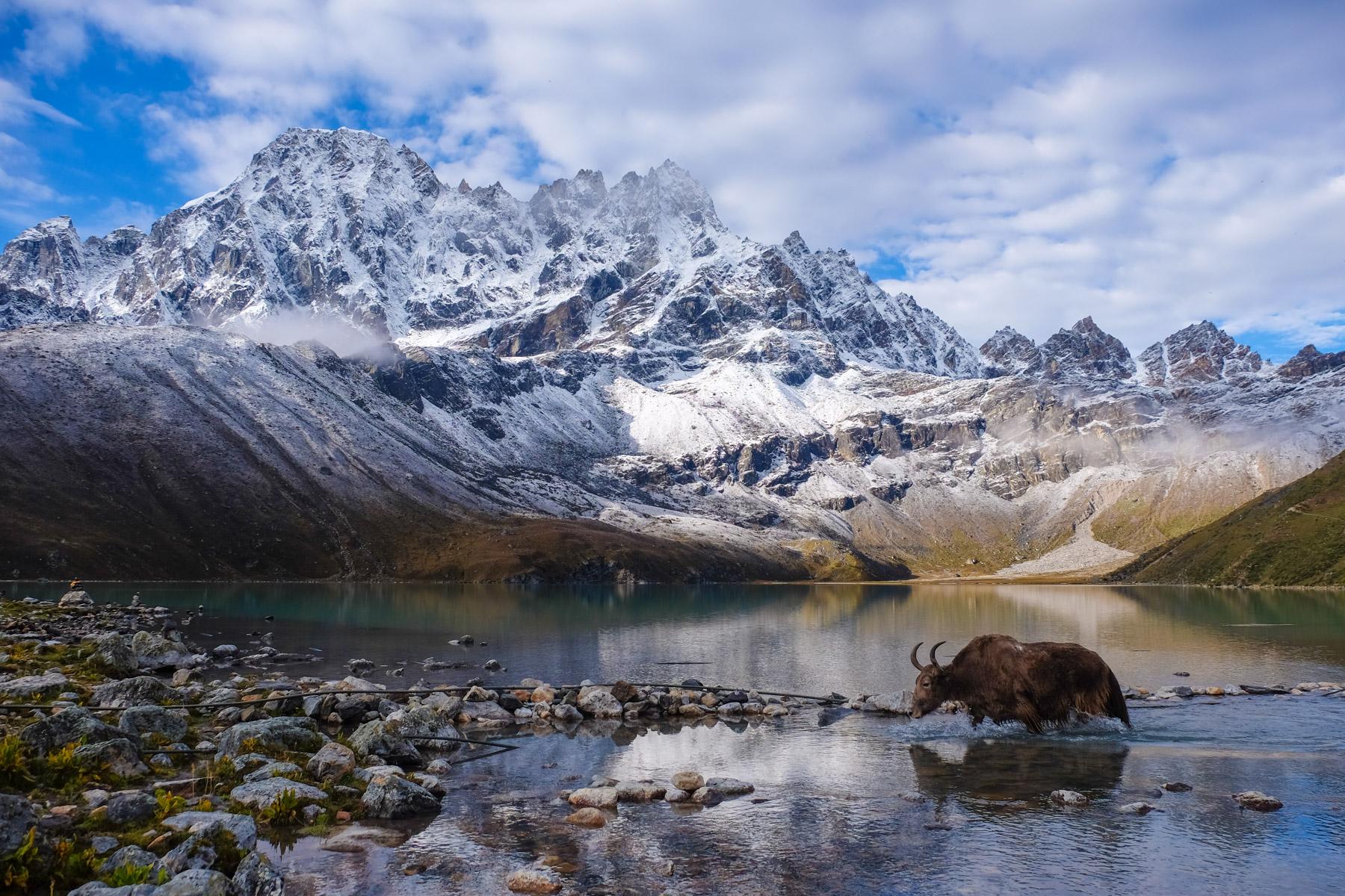 Everest 3 passes, Khumbu Himal 1