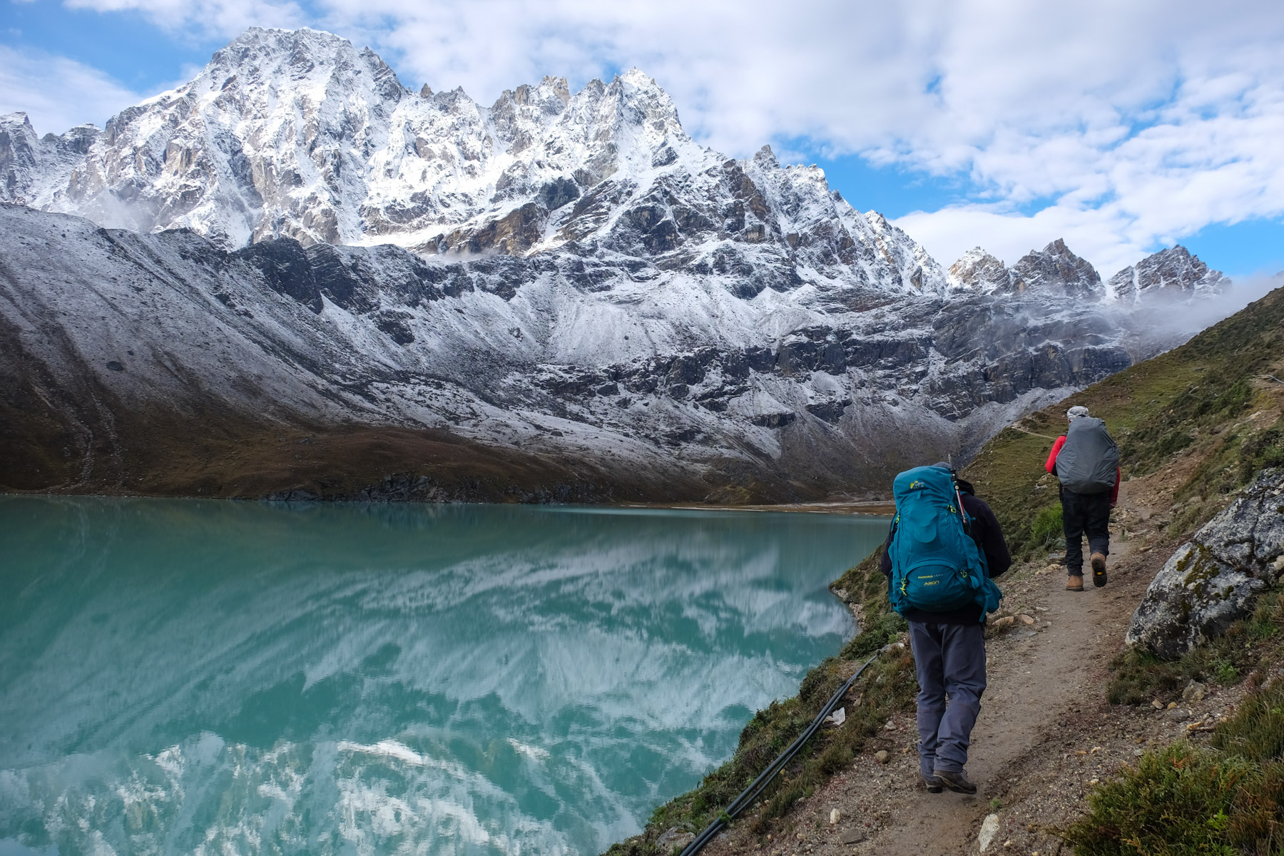 Kala Patthar & Gokyo, Everest 3 pass #3 71